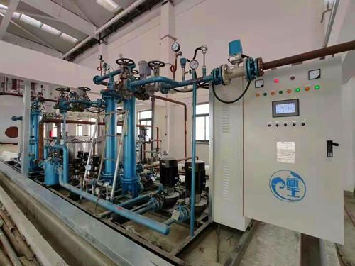 威海川能热力采购的智能式管壳式换热机组的应用案例