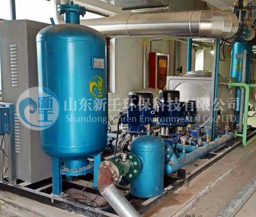 甘肃庆阳光大国际垃圾发电厂采购高效智能换热机组的应